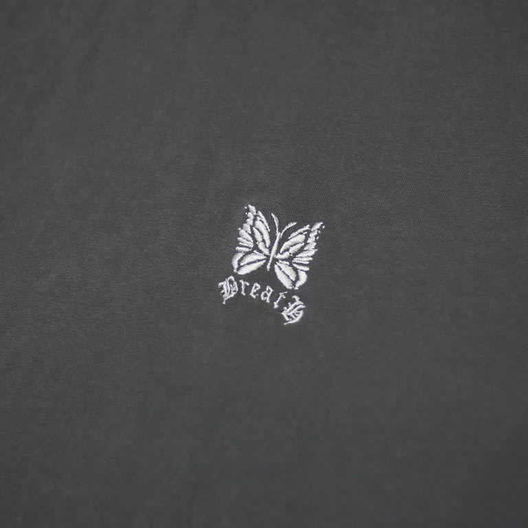 DOUBLE LOGO EMBROIDERY TEE