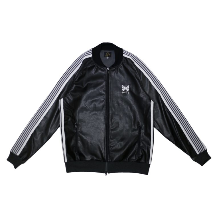 DOUBLE LOGO TRACK JACKET / BLACK