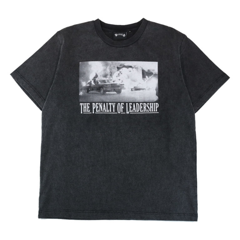 """THE PENALTY"" T-shirt / BLACK"