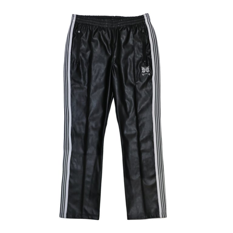 DOUBLE LOGO TRACK PANTS / BLACK